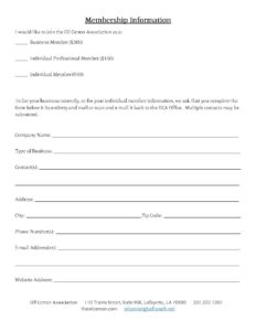Membership-Information-Form