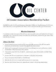 OCA-Membership-Packet