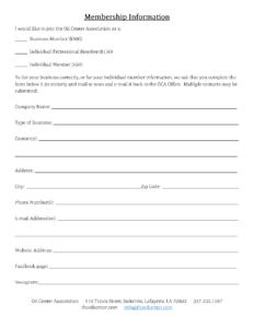 Membership Information Form – online(2)